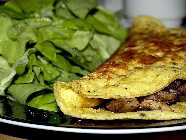 Omlet wegetariański