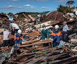 Japonia. Kolejna ofiara Tajfunu Hagibis. Kobieta wypadła z helikoptera ratunkowego