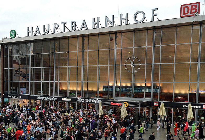 Napastnik zaatakował na największym dworcu niemieckiego miasta