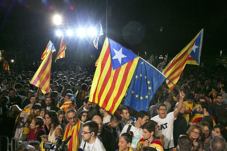 Katalończycy walczą o swoją niepodległość.