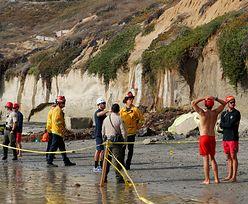 Na popularnej plaży w Kalifornii zawalił się klif. 3 osoby nie żyją