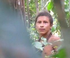 Nagranie z dżungli amazońskiej. Oto ludzie, z którymi nie było kontaktu od setek lat