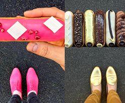 Dobiera desery do koloru... butów