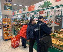 Agrounia wzywa policję do sklepu. Powód: żle oznaczone towary
