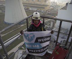 Greenpeace protestuje w Elektrowni Bełchatów. Żądają zaprzestania korzystania z węgla