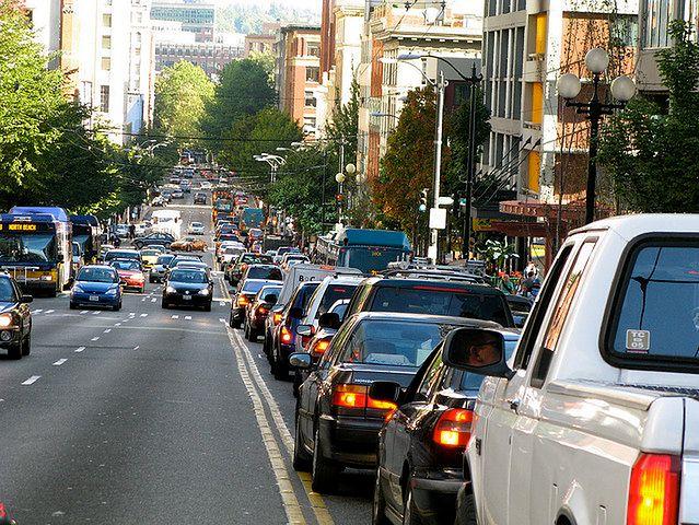 Mniejsze korki w drodze do pracy