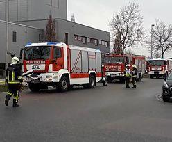 Wielka ewakuacja, są ranni. Wyciekł amoniak przy lodowisku w Straubing