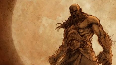 Diablo 3: mnich i jego laska