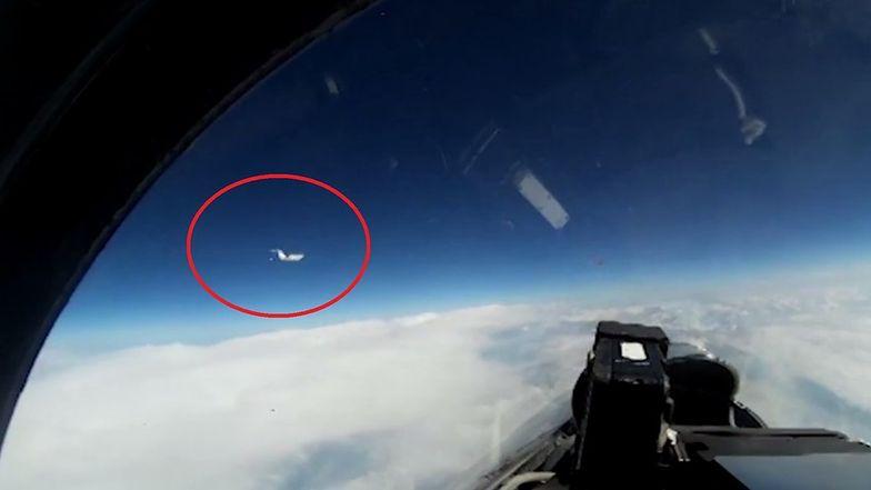 Rosyjski Su-27 przechwycił szwedzki odrzutowiec