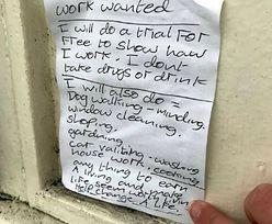 16-latka zobaczyła wzruszające ogłoszenie. Znalazła bezdomnemu dom i pracę