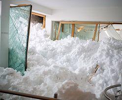 Ogromna lawina zniszczyła hotel w Niemczech. Ewakuowano gości
