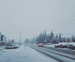 Polska obudziła się pod śniegiem. Zobacz, jak biały puch zaskoczył ludzi