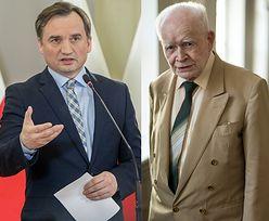 Zbigniew Ziobro krytykuje prof. Adama Strzembosza. Wypomina mu przeszłość