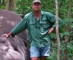 Latami zabijał słonie. Zginął przygnieciony przez jednego z nich
