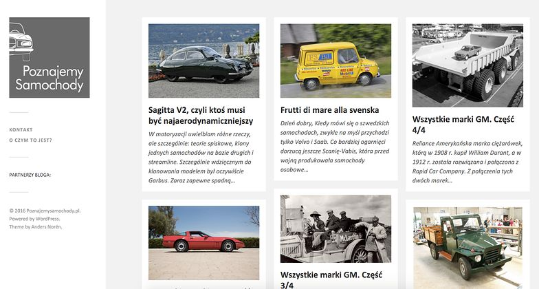 #blogdnia O takich samochodach nie mieliście pojęcia