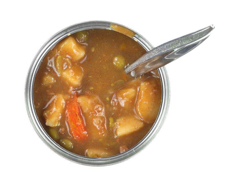 Puszkowane zupy