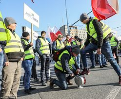 Protest rolników w Warszawie. Posypały się kary