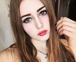 Potężnie zbudowana rosyjska nastolatka