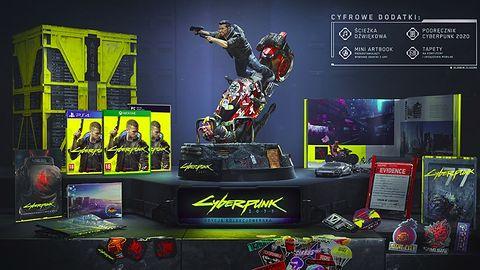 CD Projekt Red prezentuje wypasioną edycję kolekcjonerską Cyberpunk 2077