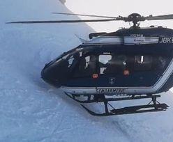 Spektakularna akcja ratunkowa w Alpach. Nagrania zapierają dech