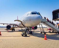 Opóźnienie lotu z Gdańska do Wiednia. Powodem awantura rodzinna