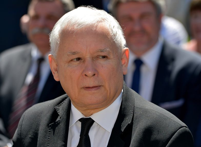 Partia Jarosława Kaczyńskiego traci w notowaniach
