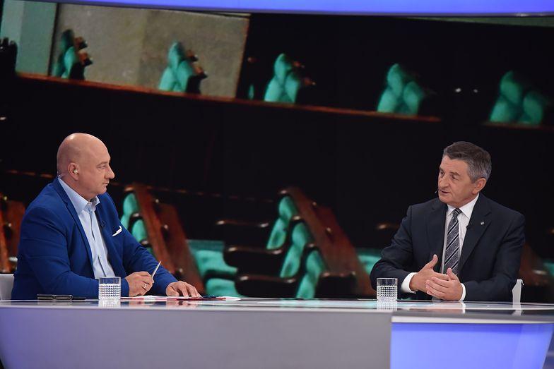 Marszałek Sejmu Marek Kuchciński po raz kolejny tłumaczył się z lotów rządowym samolotem.