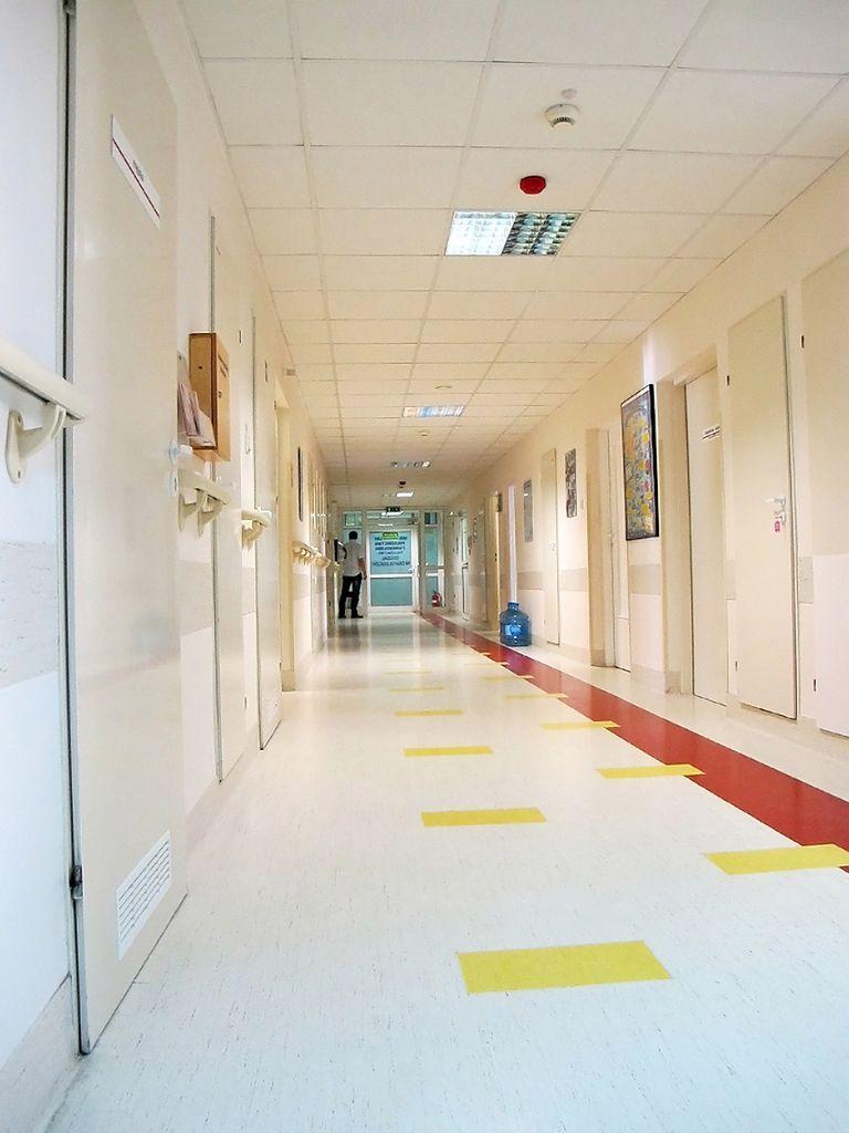 Korytarze szpitalne