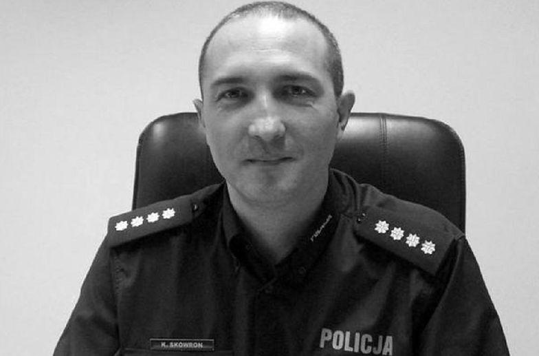 Mikołów. Nadkom. Krzysztof Skowron służył w policji od 1994 r.