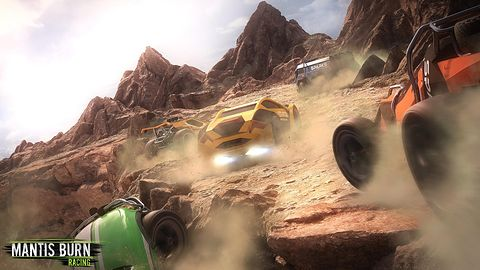 Mantis Burn Racing - recenzja. Resoraczki na start