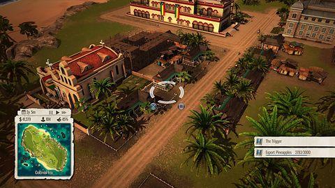 El Presidente pozwala obejrzeć, jak prezentuje się Tropico 5 na PS4