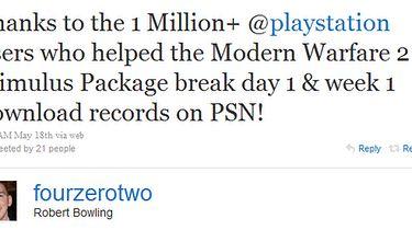 Milion Stimulus Package na PSN