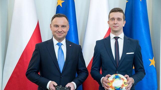 Prezydent Andrzej Duda mówi, że e-sport to też sport