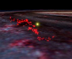 Droga Mleczna zderzyła się z tajemniczym obiektem. W galaktyce powstało faliste włókno