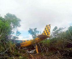 Samolot nowożeńców rozbił się w turystycznym raju. Brytyjczycy cudem przeżyli
