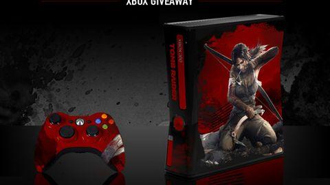 Ból i cierpienie Xboxa z motywem Tomb Raidera