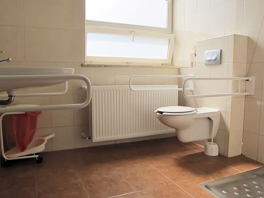 Toaleta szpitalna