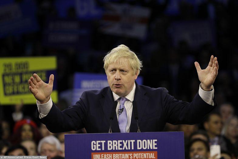 Szef Partii Konserwatywnej Boris Johnson