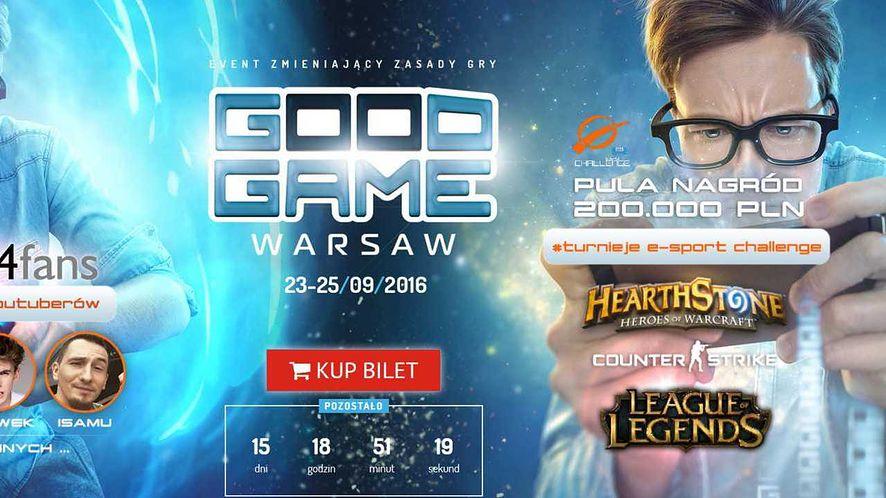 Szczegółowy plan Good Game Warsaw i druga porcja zaproszeń na targi