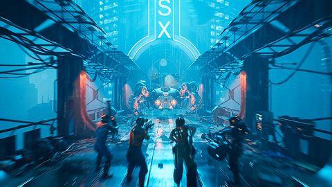 """Co skrywa świat The Ascent? Cyberpunkowy """"top-down shooter"""" z nowymi szczegółami"""