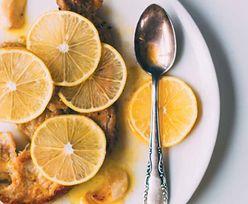 Schab skąpany w cytrynach