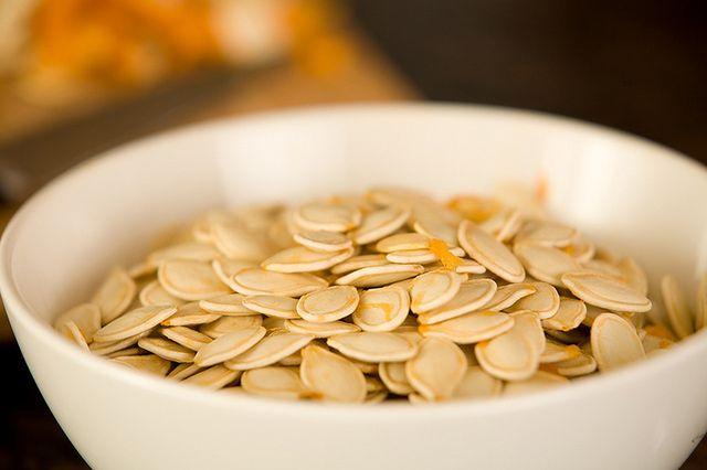 Przetworzone nasiona dyni