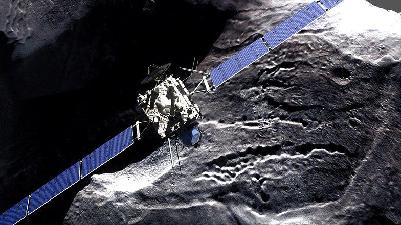 Europejska sonda rozbije się o kometę. I to celowo