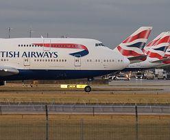 Tragedia na pokładzie samolotu British Airways. 80-latek nie przeżył