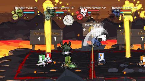 Siatkówka z Castle Crashers na PS3