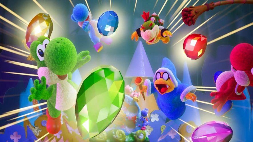 Techniczny marzec z Nintendo - daty premiery Yoshi's Crafted World i Kirby's Extra Epic Yarn