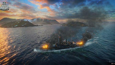 World of Warships - pojedynki majestatycznych kolosów. Wreszcie mogłem wziąć ster do ręki.