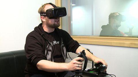Zakładamy gogle Oculus Rift i wskakujemy w nadprzestrzeń, czyli testujemy Elite: Dangerous [WIDEO]