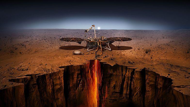 Nieoczekiwane informacje z Marsa. Zjawisko znane z Ziemi