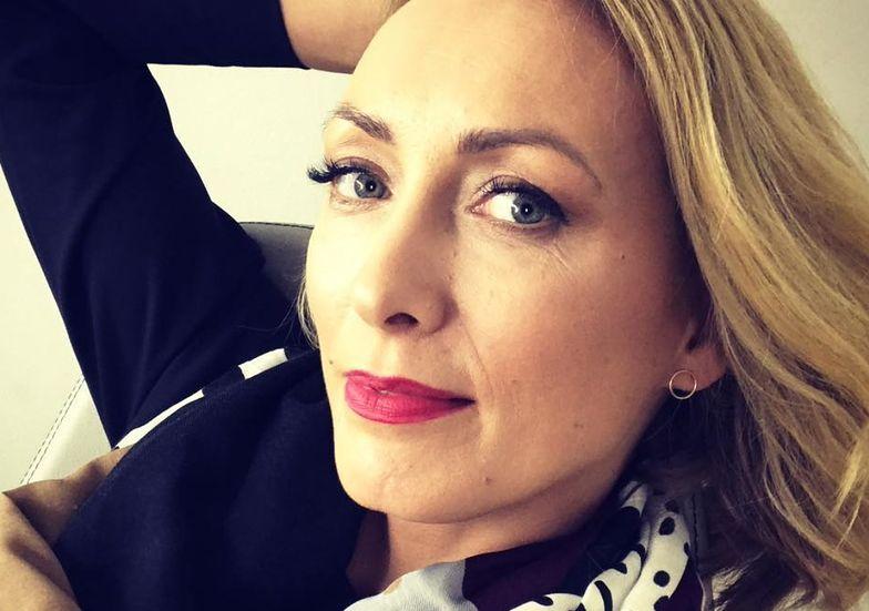 Anna Kalczyńska na balu TVN